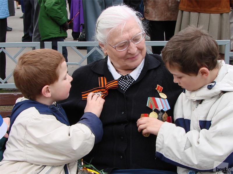 бабушка о войне