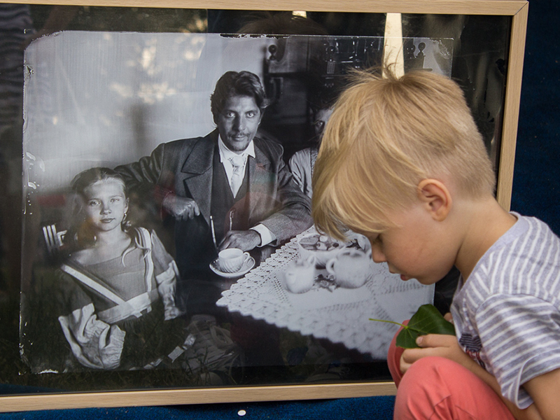 старое фото семьи